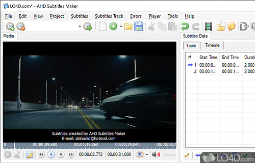 AHD Subtitles Maker Pro Screenshot
