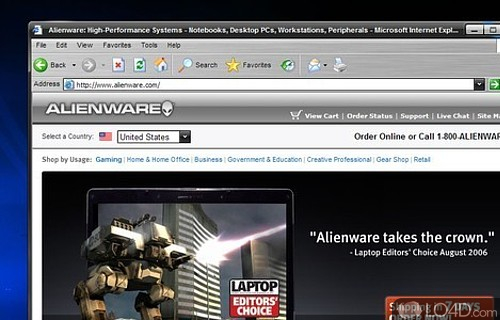 AlienGUIse Screenshot