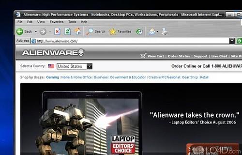 alienguise theme manager vista