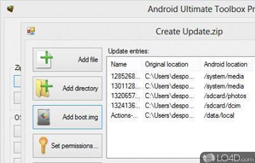 Android Ultimate Toolbox Pro Screenshot