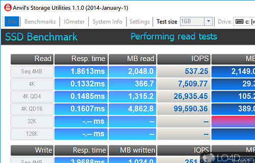 Anvils Storage Utilities Screenshot
