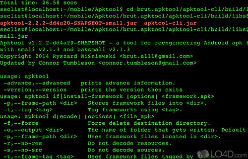 ApkTool Screenshot