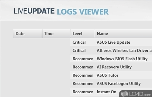 ASUS Live Update Utility - Download | 500 x 320 jpeg 67kB