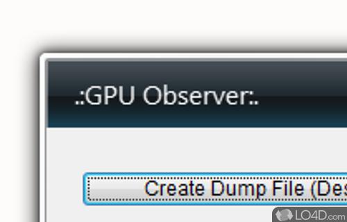ATI GPU Sidebar Gadget Screenshot