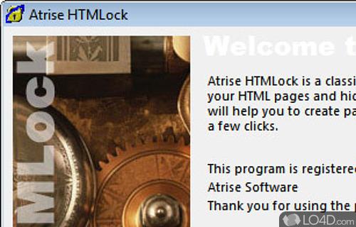Atrise HTMLock Screenshot