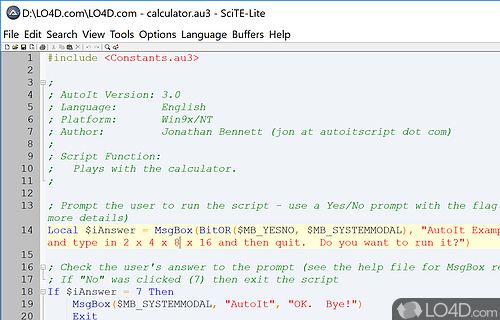 AutoIt Screenshot