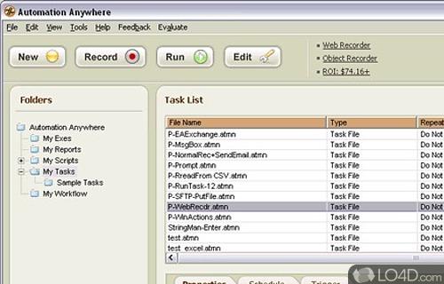 Automation Anywhere Screenshot