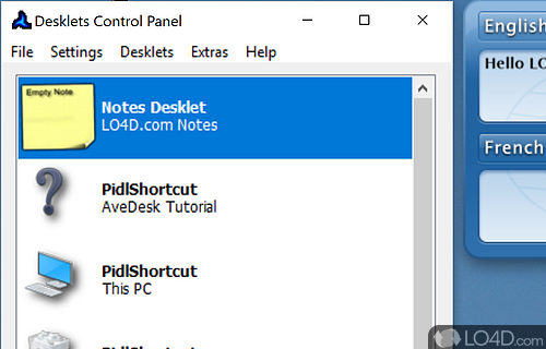 Avedesk Screenshot
