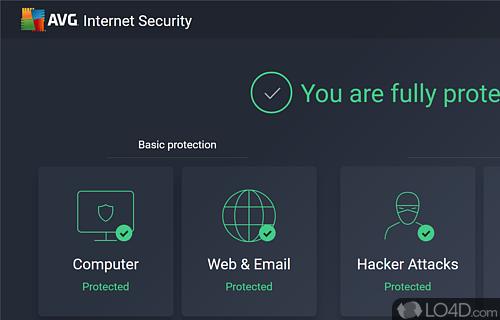 AVG InternetSecurity Screenshot