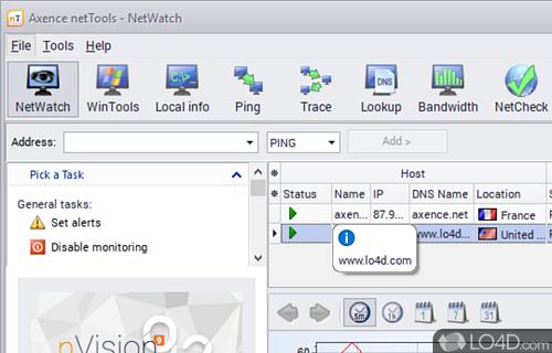 Axence NetTools Screenshot