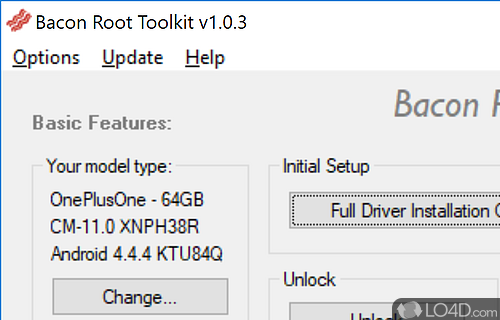 Bacon Root Toolkit Screenshot