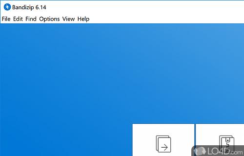 Bandizip Screenshot