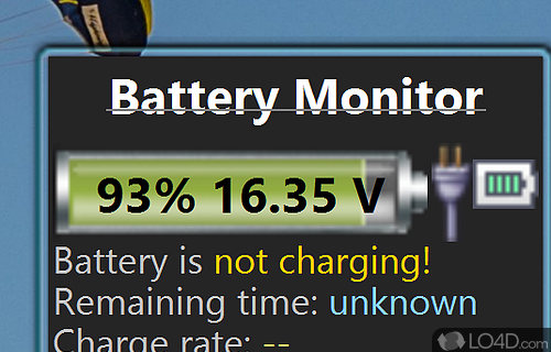 Battery Monitor Screenshot