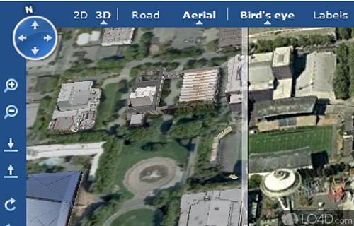 Bing Maps 3D Screenshot