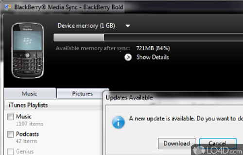 Itunes sync v1. 0. 2 free blackberry apps download.