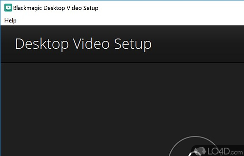 Blackmagic Desktop Video Screenshot