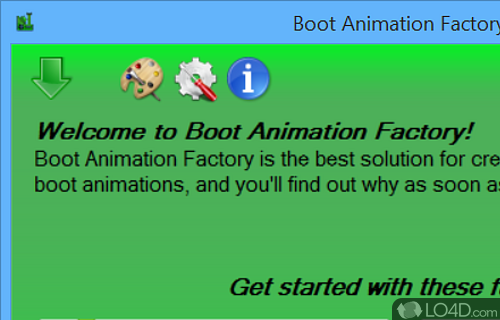 Boot Animation Factory Screenshot