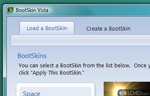 BootSkin Screenshot