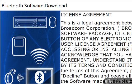 Broadcom Bluetooth Screenshot