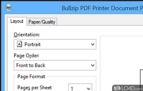 Bullzip Pdf Printer Free