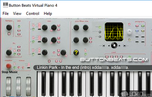 ButtonBeats Virtual Piano Screenshot