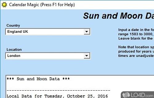 Calendar Magic Screenshot