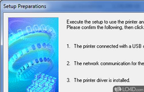 Canon IJ Network Tool Screenshot
