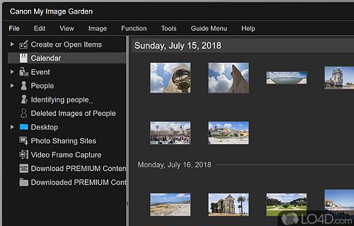 canon my image garden screenshot - Canon My Image Garden Download