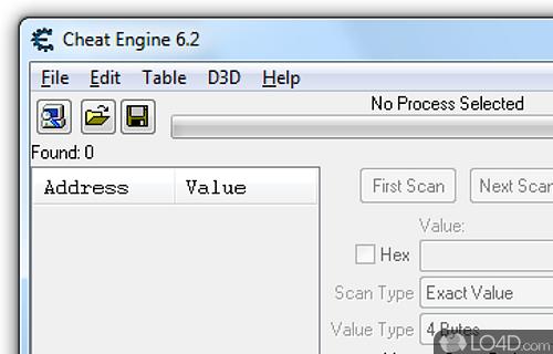 Cheat Engine Screenshot