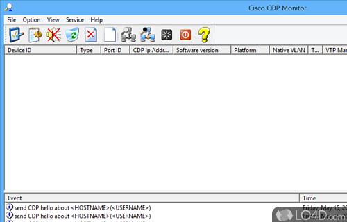 Cisco CDP Monitor Screenshot