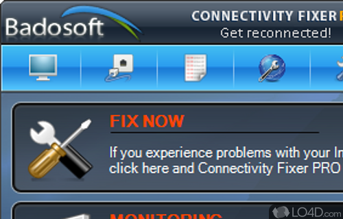 Connectivity Fixer Screenshot