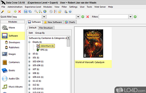 Data Crow Screenshot