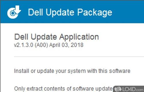 Dell Update Screenshot