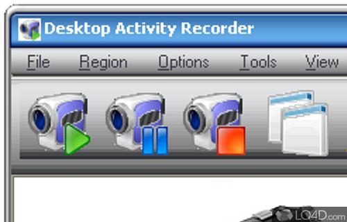 Desktop Activity Recorder Screenshot