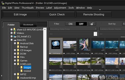 Digital Photo Professional Screenshot