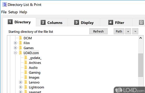 Directory List and Print Pro Screenshot