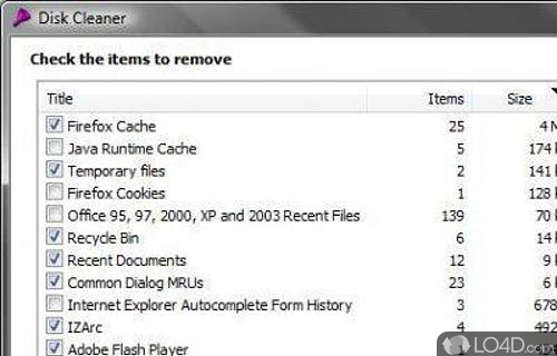 Disk Cleaner Screenshot