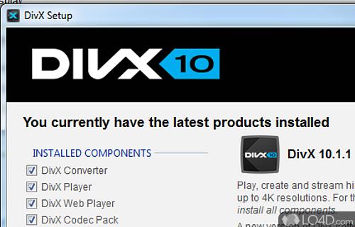 Divx player with divx pro codec (2k/xp) standaloneinstaller. Com.