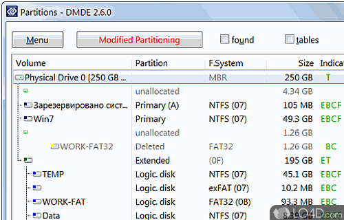 DMDE Screenshot