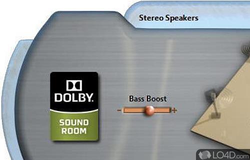 Dolby Control Center Screenshot