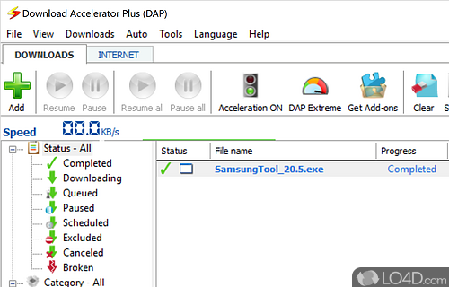 dap downloader for windows 10