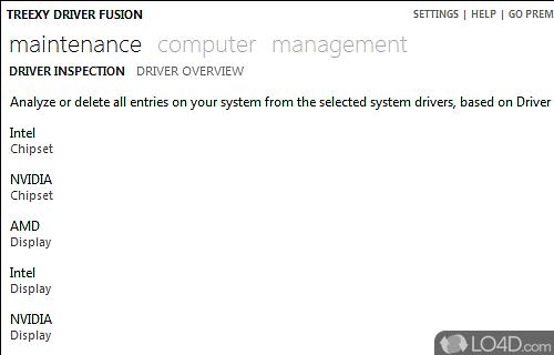 Driver Fusion Screenshot