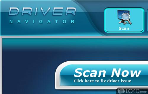 DriverNavigator Screenshot