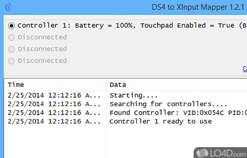 DS4 Tool Screenshot