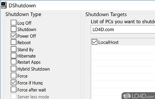 DShutdown Screenshot