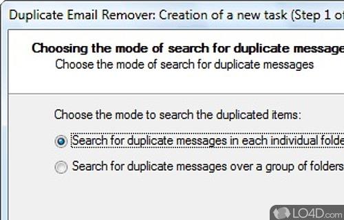 Duplicate Email Remover Screenshot