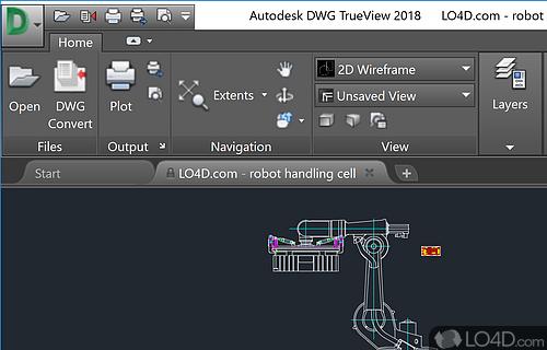DWG TrueView Screenshot