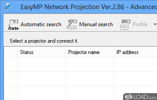 easymp network projection