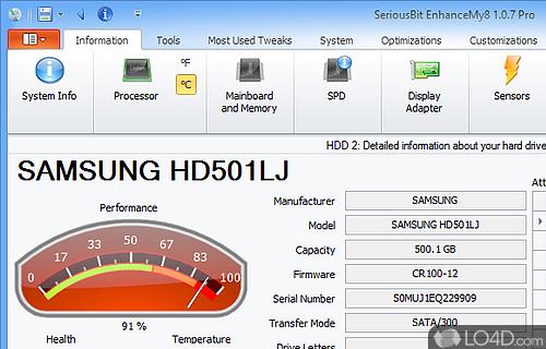 EnhanceMy8 Screenshot