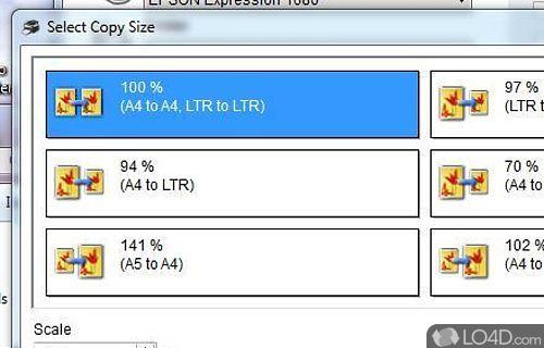 EPSON Copy Utility Screenshot